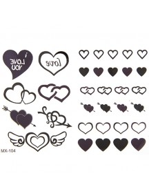 RGH1137 - Waterproof Sticker Tattoo Unisex