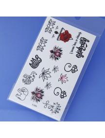 RGH1165 - Waterproof Sticker Tattoo Unisex