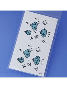 RGH1168 - Waterproof Sticker Tattoo Unisex