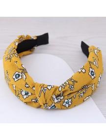 RAR1052 - Aksesoris Rambut Bando Mustard Flower