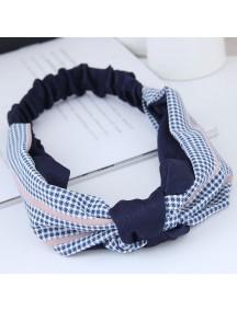 RAR1063 - Aksesoris Rambut Headband Blue Platted