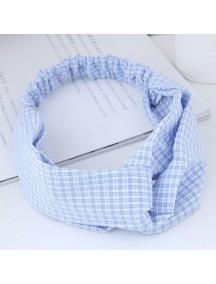 RAR1064 - Aksesoris Rambut Headband Soft Blue