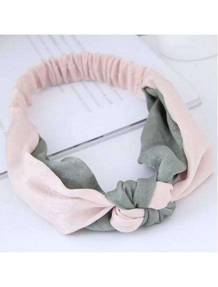 RAR1065 - Aksesoris Rambut Headband Pink Grey