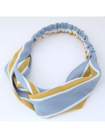 RAR1068 - Aksesoris Rambut Headband Blue Mustard
