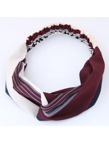 RAR1069 - Aksesoris Rambut Headband Blue White