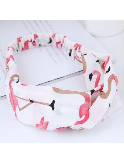 RAR1072W - Aksesoris Rambut Headband Flamingo
