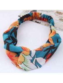 RAR1075 - Aksesoris Rambut Headband Blue Hawaiian