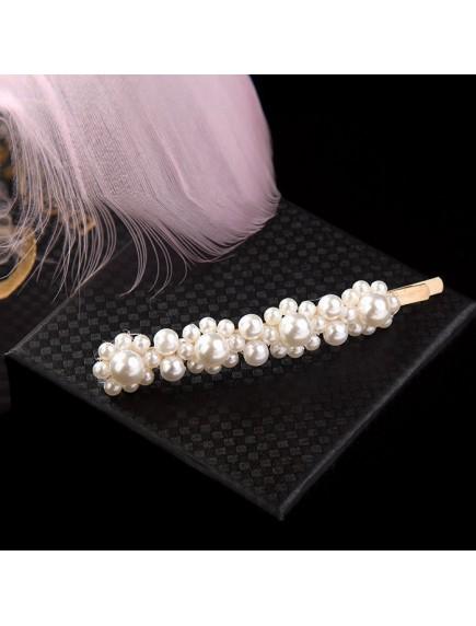 RAR1082W - Aksesoris Klip Rambut Mutiara Hair Clip Pins Pearl Korea