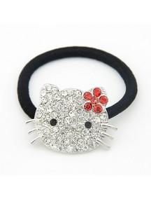 RAR1370 - Aksesoris Rambut Ikat Hello Kitty