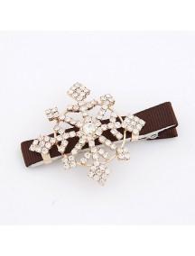RAR1769 - Aksesoris Rambut Clip SnowFlake