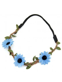 RAR2389 - Aksesoris Rambut  Leafy Flower Hair Band