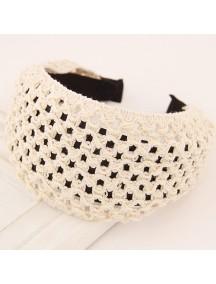 RAR2588 - Aksesoris Rambut Bando Wool Hollow