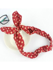 RAR2678 - Aksesoris Rambut Rabbit Ears Cute Butterfly Bow HairBand