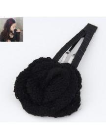 RAR3031 - Aksesoris Rambut Clip Wool Rose