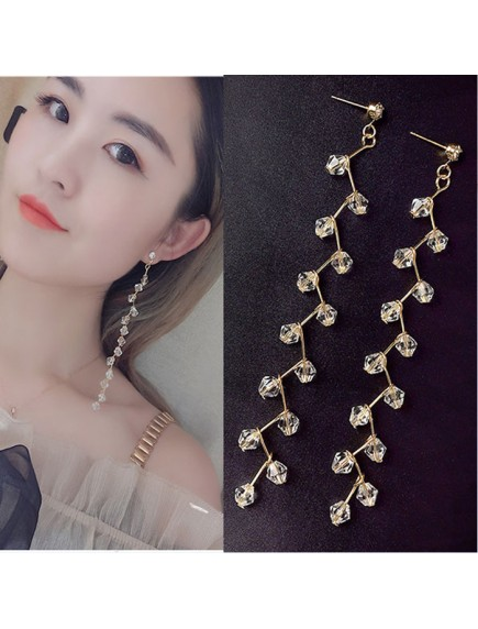 RAT1246W - Aksesoris Anting Crystal Beads Elegant