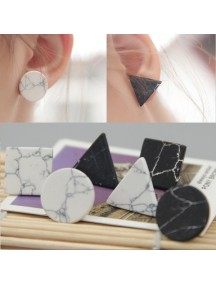 RAT1081W - Aksesoris Anting Element Stone Earring