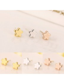 RAT1135W - Aksesoris Anting Zircon Simple Love