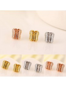 RAT1138W - Aksesoris Anting Zircon Peanut Earring