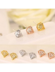 RAT1140W - Aksesoris Anting Zircon Diamond