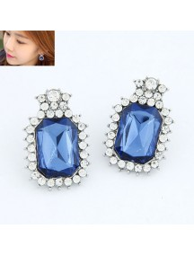 RAT4377 - Aksesoris Anting Gems Diamond