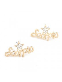 RAT4394 - Aksesoris Anting Word Scorpio