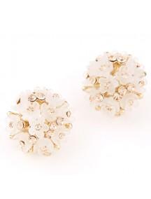 RAT6059 - Aksesoris Anting Bunga Diamond