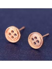 RAT6513 - Aksesoris Anting Fashion Model Kancing / Button