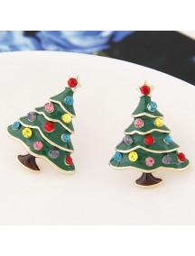 RAT7058 - Aksesoris Anting Flash Diamond Christmas Tree