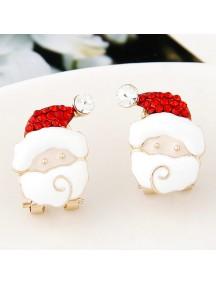 RAT7064 - Aksesoris Anting Santa Claus Christmas