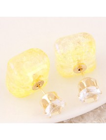 RAT7551 - Aksesoris Anting Box Flash Diamond