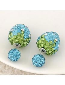 RAT7628.1 - Aksesoris Anting Beads BerryBall Diamond