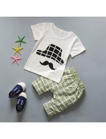KA0116W - Baju Anak Balita Katun Bambu Summer White Set (2-5 thn)