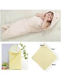 KA0118 - Selimut / Handuk Bedong Bayi Katun Premium Baby (Kuning)