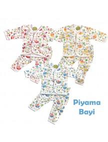 KA0119W - Baju Tidur Anak Bayi / Piyama Anak Set Panjang (18-24 bln)