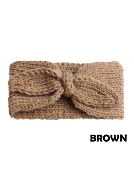 KA0139W - Aksesoris Bando Bayi Bandana Rabbit Wool Knot