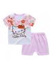 KA0150W - Baju Anak Bayi Hello Kitty T-Shirt Set Celana Pendek