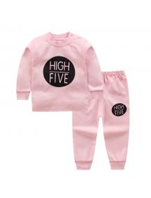KA0153W - Baju Anak Bayi Piyama High-Five Set Celana Panjang
