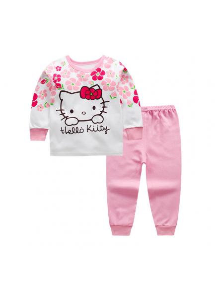 KA0154W - Baju Anak Bayi Piyama High-Five Set Celana Panjang