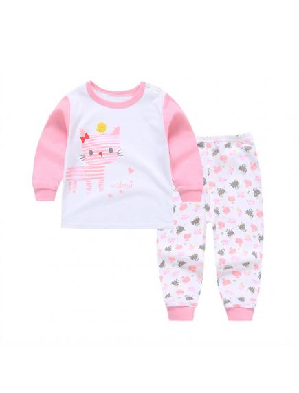 KA0156W - Baju Anak Bayi Piyama High-Five Set Celana Panjang