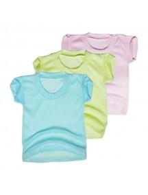 KA0003W - Kaos Oblong Polos Anak Bayi