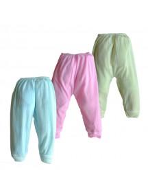 KA0015W - Celana Panjang Fashion Bayi Polos Dengan Base Karet
