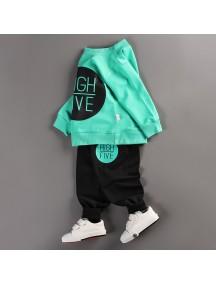 KA0036 - Baju Balita High Five Style Set (1-2 Thn)