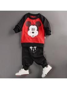 KA0037 - Baju Balita Mickey Mouse Style Set (1-2 Thn)