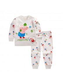 KA0041 - Baju Balita Piyama Peppa Pig Pajama Set (1-2 Thn)