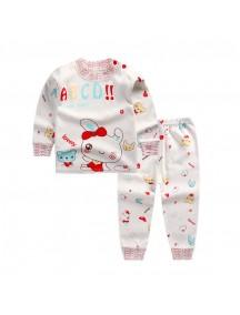 KA0046 - Baju Balita Piyama Sweet Rabbit Pajama Set (1-2 Thn)