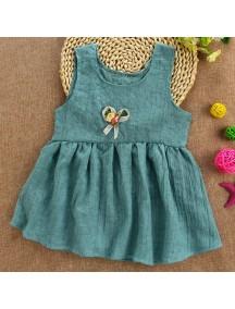 KA0054W - Baby Dress Bayi Perempuan Sweet Green