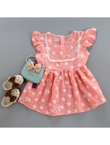 KA0057W - Baby Dress Bayi Perempuan Sweet Daisy