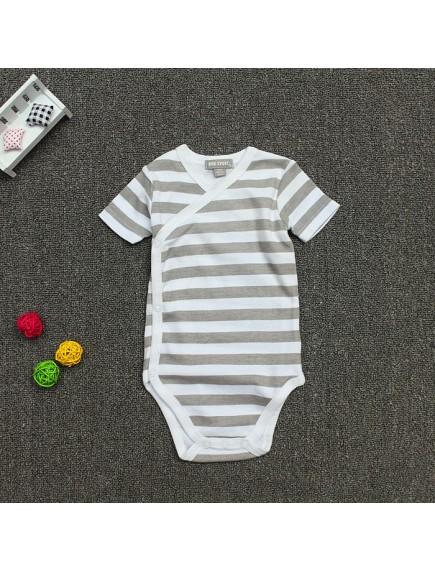 KA0073 - Baju Baby Onesie Jumpsuit Big Stripe (6 bln)