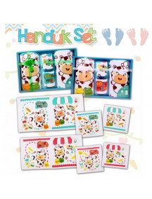 KB0001W - Handuk Set Gift Baby Newborn Hadiah 4pc