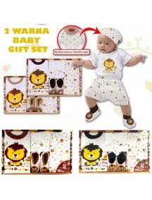 KB0003W - Baby Gift Newborn Set Hadiah Perlengkapan Bayi (Lion)